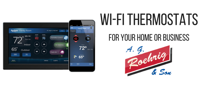 Ag Roehrig Wifi Thermostat